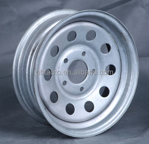 "Steel Trailer Wheel for 15""x5""J - <strong>5</strong> on 4-1/2"