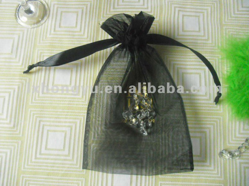 Excellent quality 15*25cm good jewelry organza bags