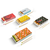 Custom colored head wooden match splints match stick safety matches