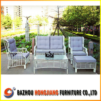 2015 New Outdoor Rattan Furniture/garden wicker sofa patio rattan sofa