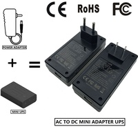 hotsale 5v 2a 10W AC to DC mini adapter UPS for router and ip camera