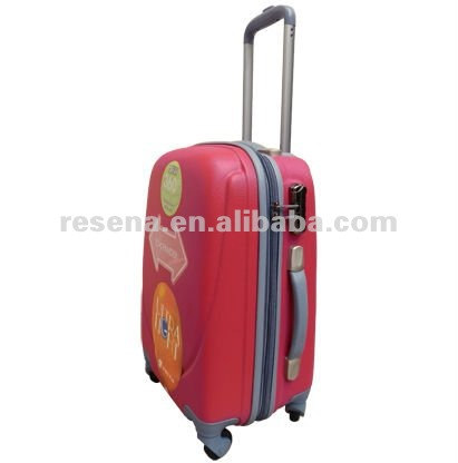 Smile Face Shape ABS Hard Luggage