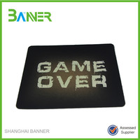 Custom made advertising computer play mouse mat
