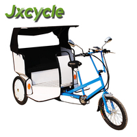 touring bicycle rickshaw
