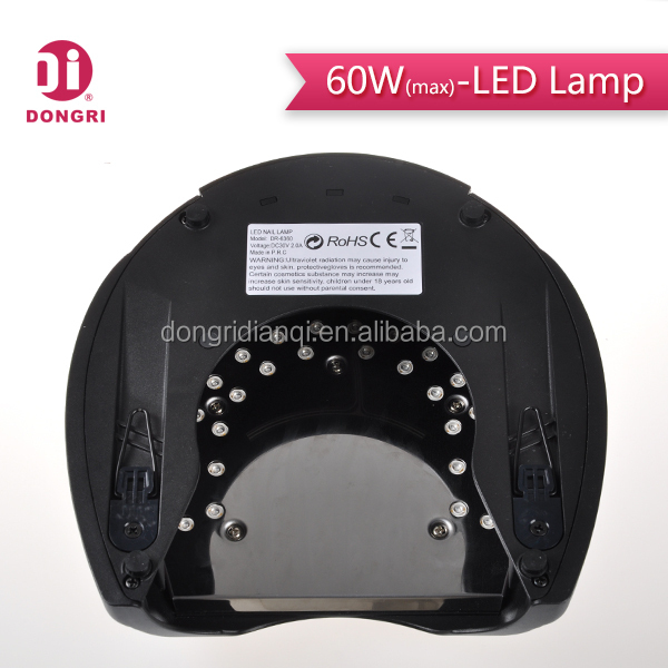 CE ROHS passed led uv nail lamp