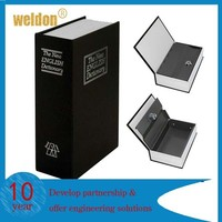 Home Dictionary Diversion Book Safe with Key Lock of inner metal case