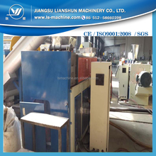 Plasticizing film squeezing dryer machine