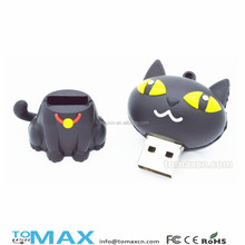 novelty items for sell cartoon kitty cat usb Memorias stick bulk wholesale
