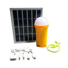 solar rechargeable lantern with USB port