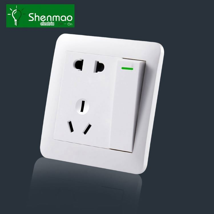 3 pin british electric socket, uk wall electric usb socket outlet USUN 10 years warranty