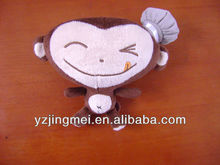 6 inch small plush monkey toys