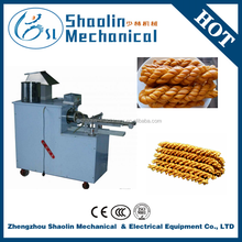 New Style hot selling fried dough twist machine/chinese snack food making machine with best service