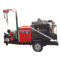 construction equipments Truck mounted asphalt road crack sealing machine
