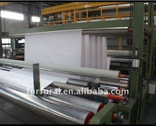 pvc flex banner sheet production line machine