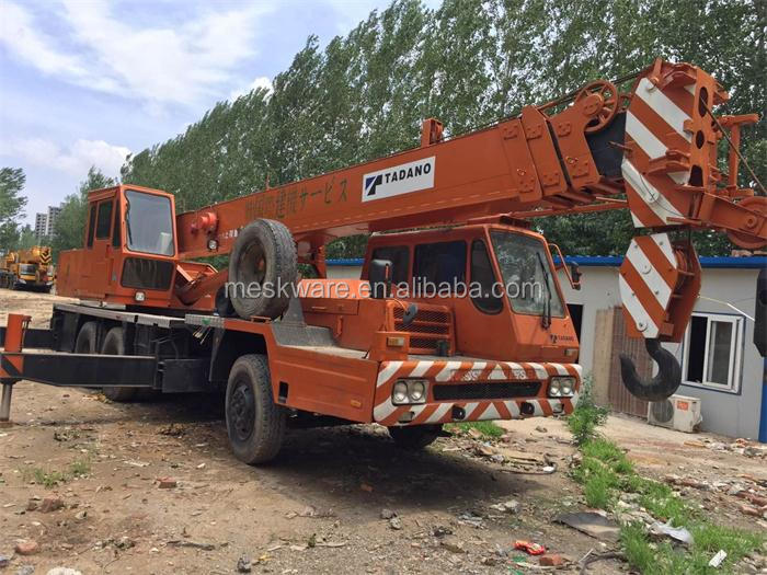 Second Hand Nissan Diesel Good Working Condition Japan Origin Tadano TL-250E 25 Ton Used Truck Crane