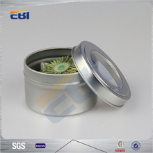 Aluminum metal can tin tea tin