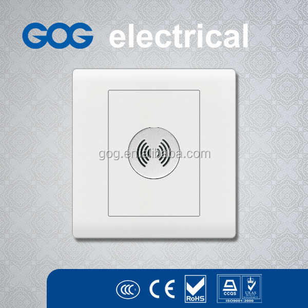 UK Standard electrical voice control wall light switch