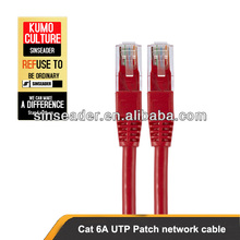 UTP Patch cord Cat6a Rj45 network cable Any colors and lengths