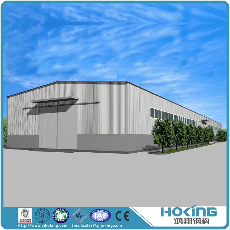 Steel Construction Warehouse Made of Light Steel Structures