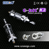 Nice price electronic cigarette smoke for oil seego G-hit K2 personal vaporizer holder