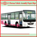 Africa Assemble Chinese Tourist Bus New Colour