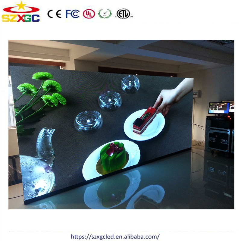 full color xxx china full sex video p2 indoor led display screen