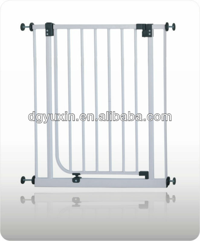 Factory direct sale easy install without drilling holes safety baby stair gate safety gate