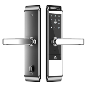 Touch Screen WIFI Keyless Smart Door Lock door handle lock fingerprint digital electronic safe lock
