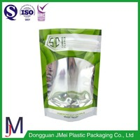 promotional pouch packing material foil zipper bags empty tea bags
