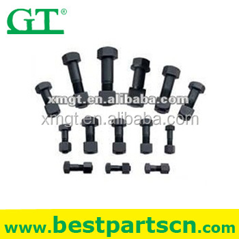 MITSUBISHI BD2 track shoe bolt and nut 58646-01000