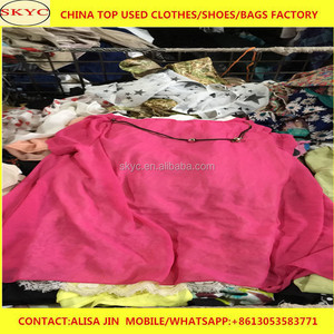 Guinea used clothing buyers import China Dongguan factory second hand clothes for containers hot sale in Conakry market