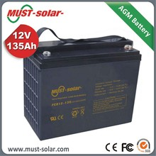 12V deep cycle battery lead acid battery for home solar systems