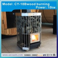 15KW- 25KW sauna stainless steel intank cast iron wood burning stove for sale