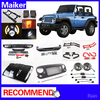 jeep wrangler Jk accessories Hood Front Grille front rear Bumper jeep parts body parts