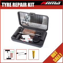 Tubeless Car Truck Motorcycle Deluxe Tire Plug Repair Kit Tyre Puncture Repair Kit