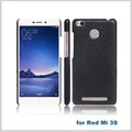 pu synthetic leather cell phone case for hongmi3s