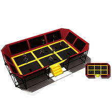 Big gymnastics trampoline second hand trampolines springfree trampoline for sale JMQ-G192F