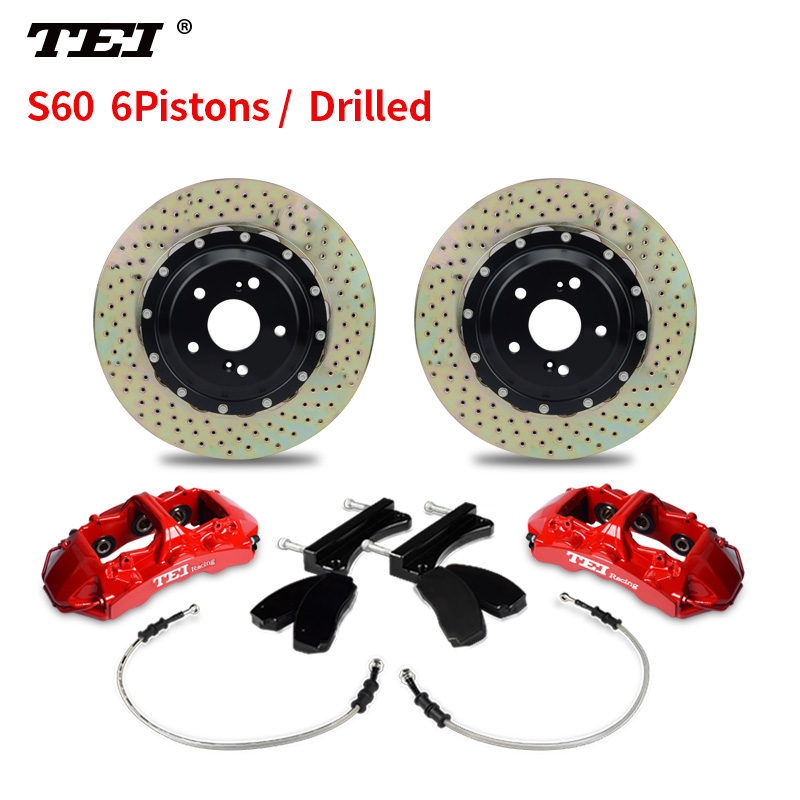 TEI 6 piston Front Rear Disc Big Brake Kit for AMG GLA 45 4MATIC