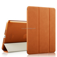 front and back cover wallet leather COVER for ipad air 2 case
