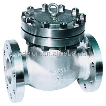 API Strong Sealing Cast Steel Flange End Check Valve DN50-DN300