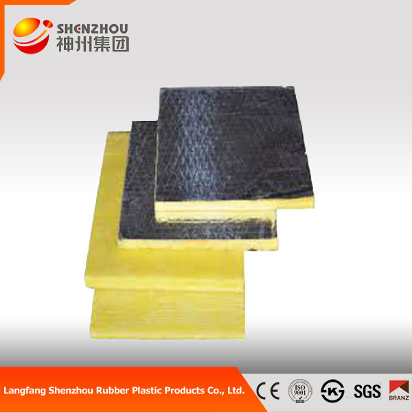 thermal insulation glass wool board good quality glass wool board faced aluminum foil glass fabric