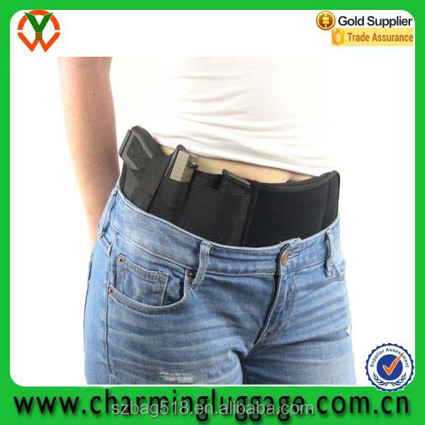 Premium OEM Custom logo unisex soft neoprene belly band holster