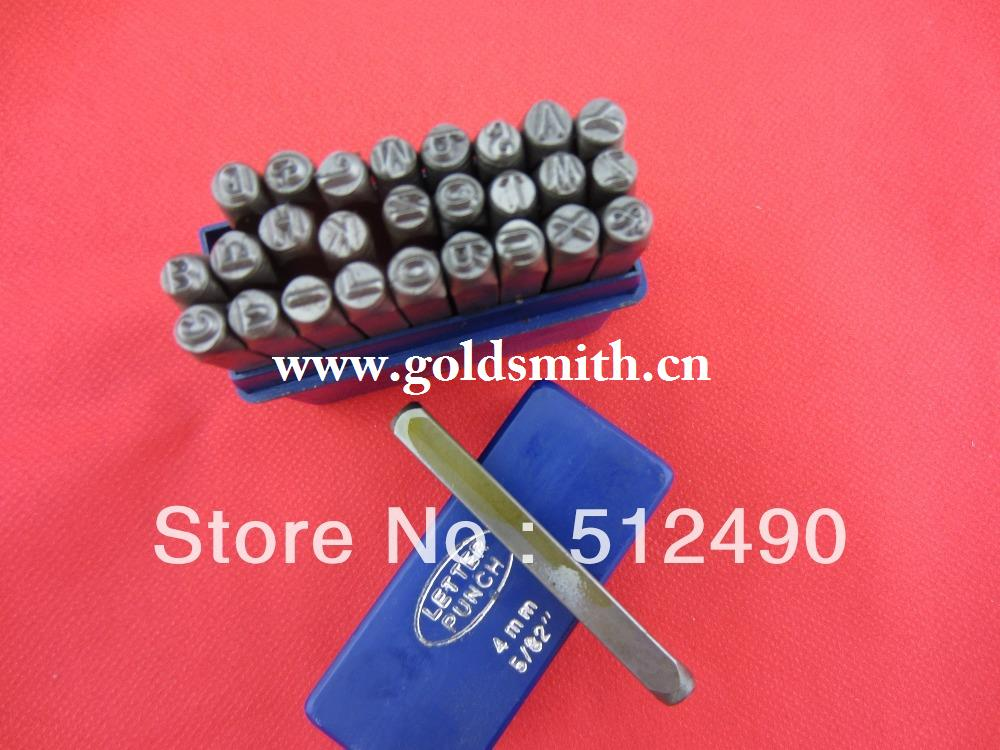 alibaba china supplier,27pcs 6 MM Capital Letter A-Z Punch Stamp Set steel punch tool Jewelry Stamp,jewellery equipment tools