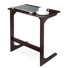 Bamboo Snack Table Sofa End Table Bed Side Table Laptop Stand Modern Homey Style <strong>Furniture</strong>