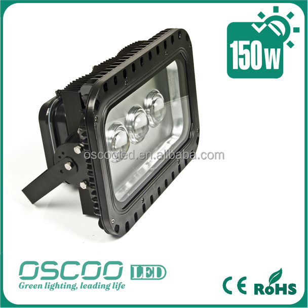 Shenzhen outdoor high power led IP65 cob 180W led flood light for tennis court