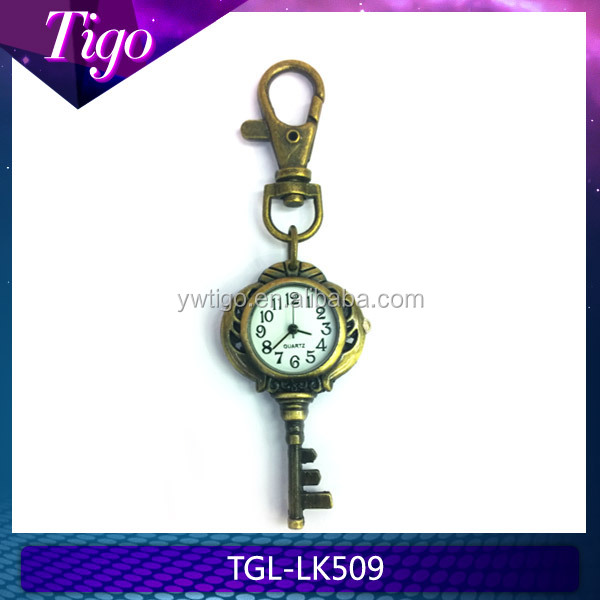 wholesale antique plated key key chain