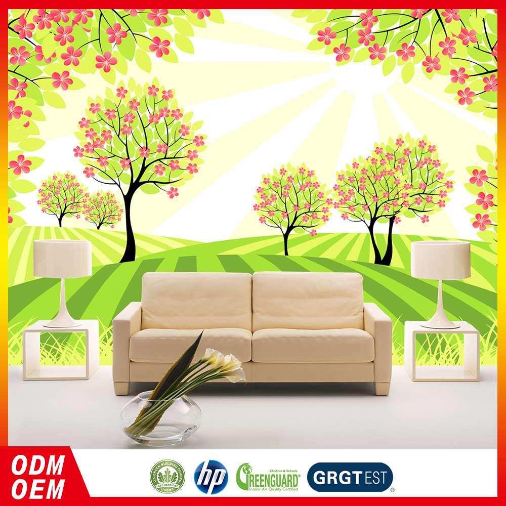 Cheap prices sales newest design modern flower design 3d for Cheap designer wallpaper sale