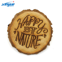 Cheap Wood Drink Coaster / Tea Coffee Beer Cup Mat Wholesale