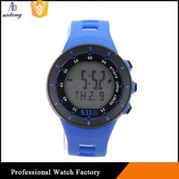 Solar Power Digital Led Watch For Vintage Sports Wristwatch