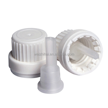 18mm tamper evident cap with euro cap